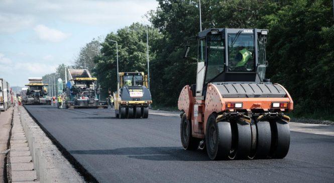 На Буковині завершують капремонт дороги на Порубне за 120 мільйонів гривень