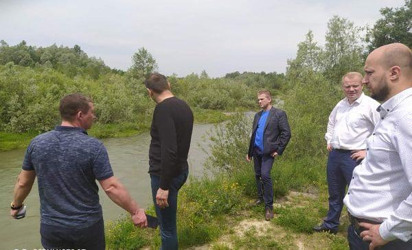 Очильники району разом з спеціалістами здійснили обстеження русла річки Сірет