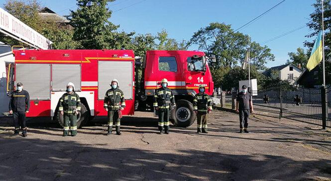 Глибоцькі рятувальники вшанували пам'ять полеглих захисників України