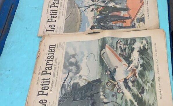 Періодичні видання початку ХХ століття вилучили працівники митниці в пункті пропуску «Порубне-Сірет»