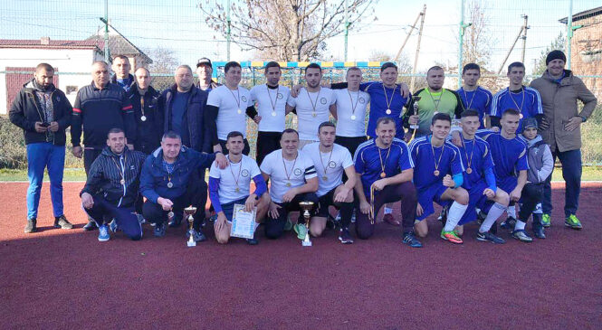 Завершилась першість Глибоцької ОТГ з міні-футболу!