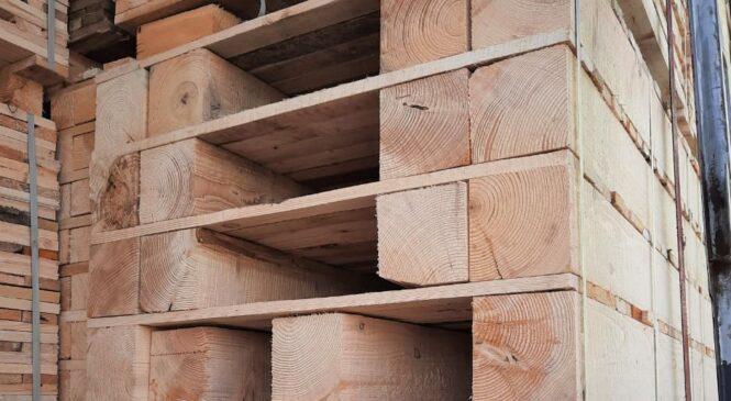 """В пункті пропуску """"Порубне-Сірет"""" вилучили деревину  вартістю 90 тисяч гривень"""