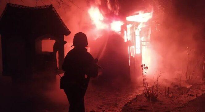 Пожежа в літній кухні в с. Черепківка Глибоцького району