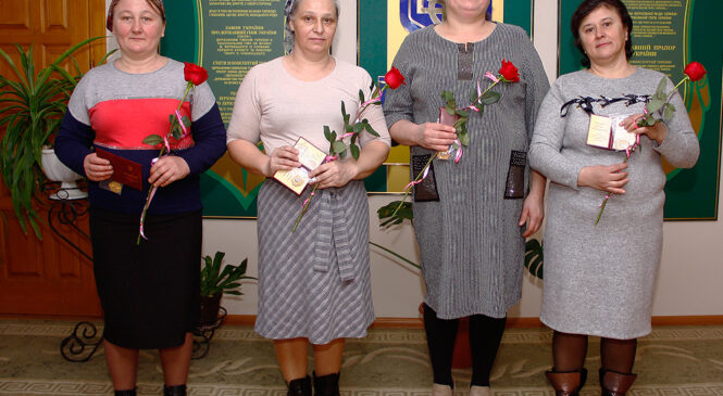 У Глибоцькій громаді вручили посвідчення та нагрудні знаки до почесного звання України «Мати-героїня»