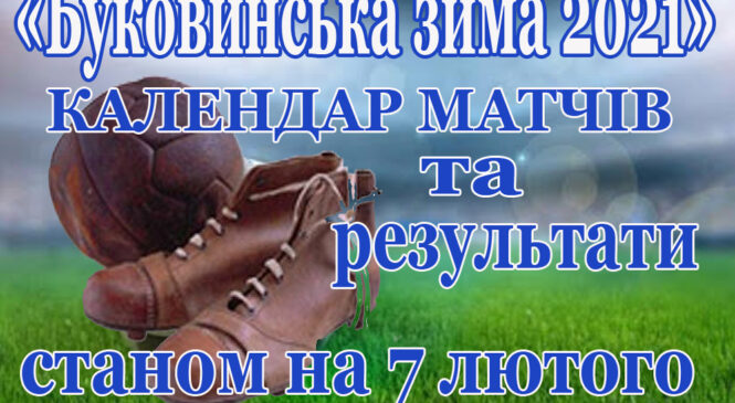 Турнір з міні-футболу серед ветеранів «Буковинська зима-2021