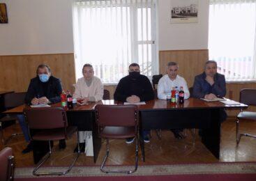 Голова Чернівецької районної ради Руслан Домніцак провів робочу зустріч з головами територіальних громад колишнього Глибоцького району