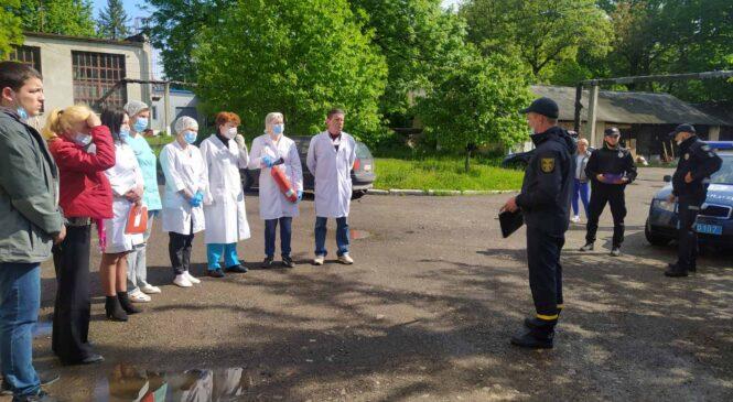 Навчання щодо дій у разі виникнення пожежі