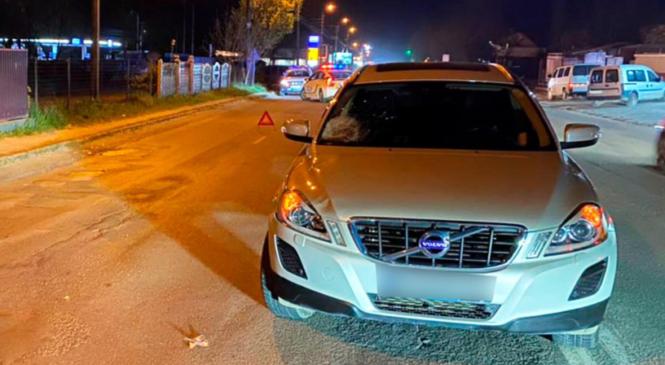 У Чагрі водій збив піхошода, який переходив дорогу за межами пішохідного переходу