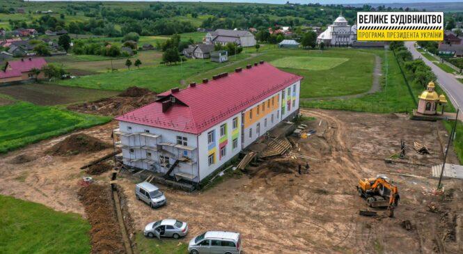 Дитячий садок незабаром з'явиться у селі Опришени, що у Глибоцькій територіальній громад