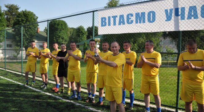 З нагоди відзначення Дня митника України відбувся турнір з міні-футболу⚽️