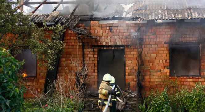 У Глибоці ущент згорів приватний будинок по вулиці Буковинського Віче (ФОТО)