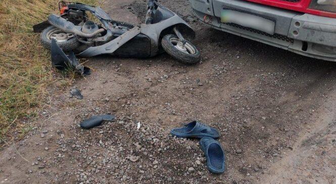 На Заставнівщині внаслідок зіткнення транспортних засобів травмувався неповнолітній місцевий мешканець