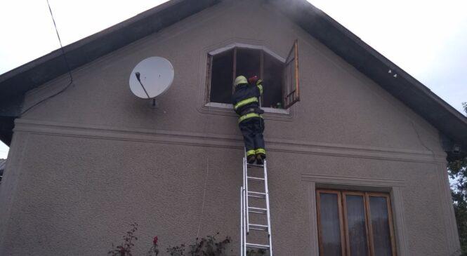 В житловому будинку села Станівці Тарашанської громади виникла пожежа