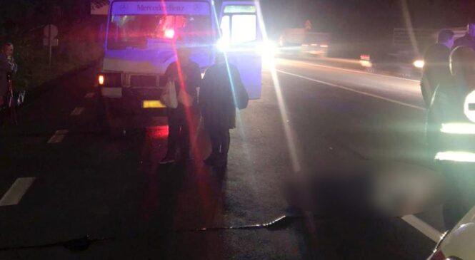 У Чернівецькому районі поліцейські задокументували аварію, внаслідок якої загинув пішохід