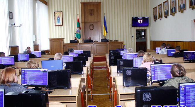 13-та сесія XVIII скликання Глибоцької територіальної громади (ФОТО, ВІДЕО)